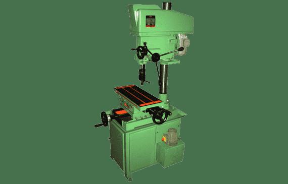 40mm Heavy Duty Drilling Cum MIlling Machine | Maan Technoplus
