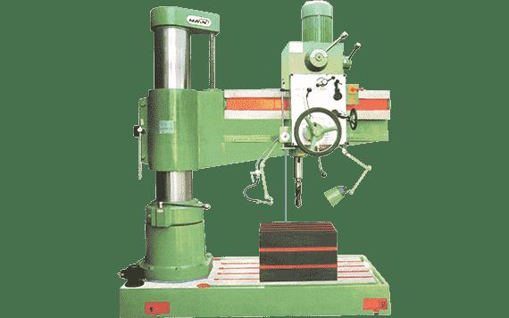 50mm All Geared Heavy Duty Radial Drilling Machine | Maan Technoplus