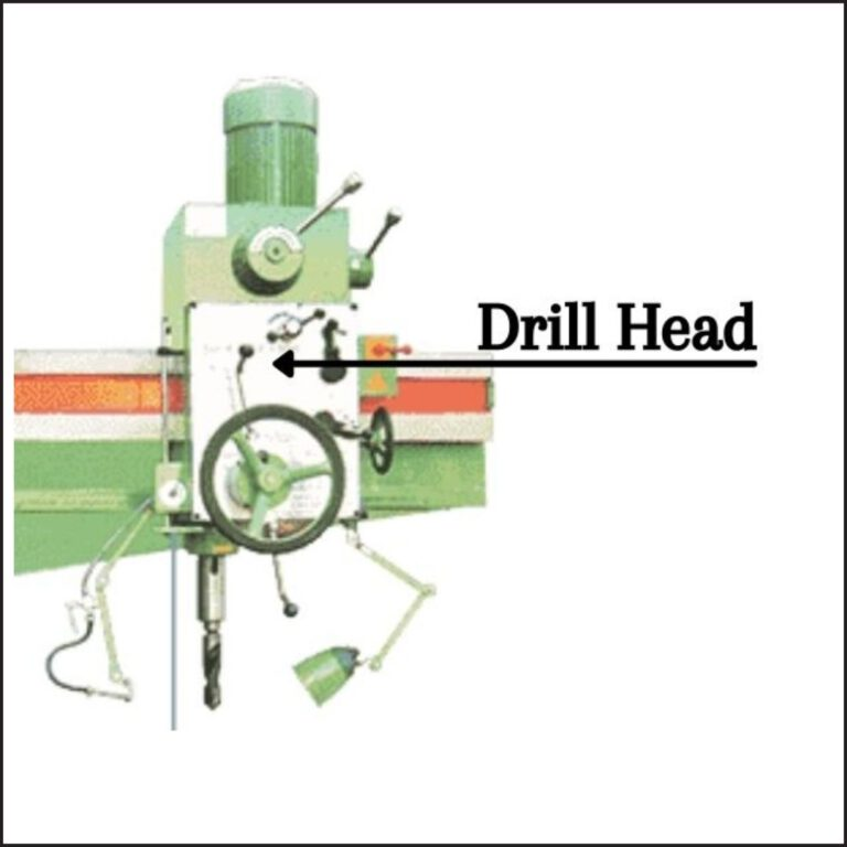 Drill Head Of The Radial Drill Machine
