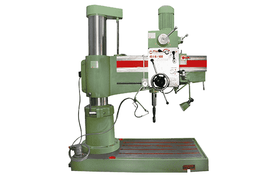Radial drilling machine exporter in India