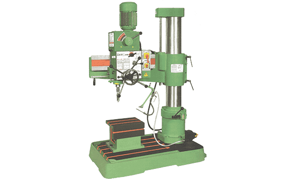 40mm All Geared Double Column Radial Drill Machine | Maan Technoplus