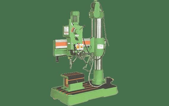 40mm All Geared Radial Drill Machine | Maan Technoplus