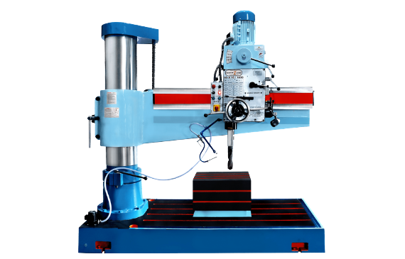65mm Extra Heavy Duty All Geared Radial Drill Machine | Maan Technoplus